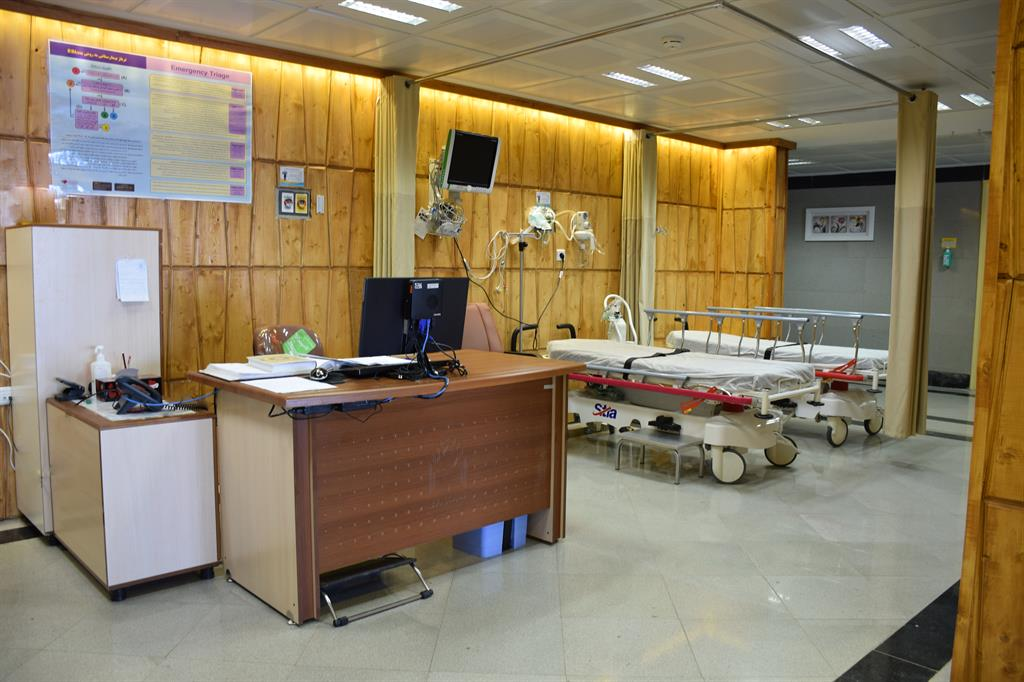 Emergency Department of Razi hospital