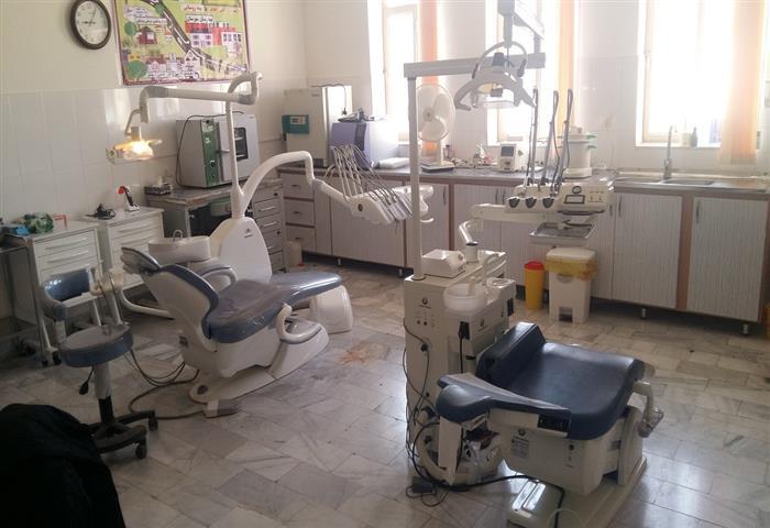 نماي دندانپزشكي مراكز خدمات جامع سلامت روستايي اميرآباد