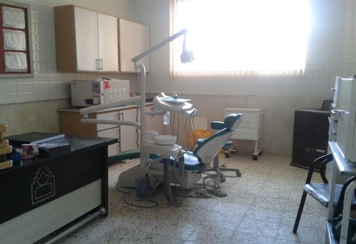 نماي دندانپزشكي مراكز خدمات جامع سلامت روستايي شاخن