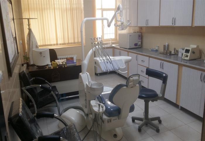 نماي دندانپزشكي مركز خدمات جامع سلامت شهري جواديه