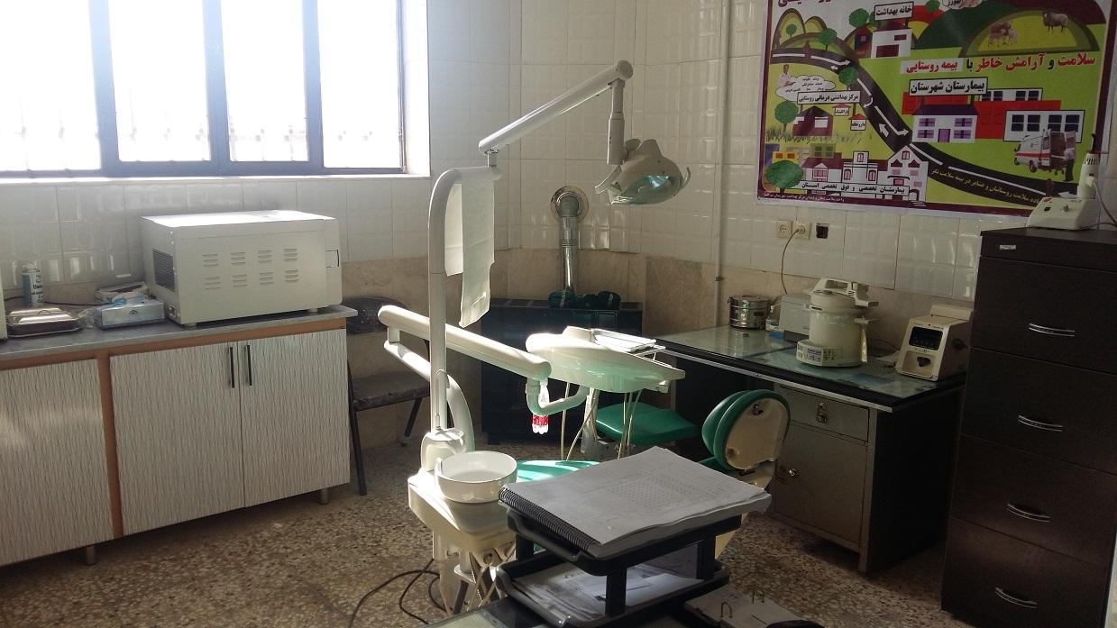 نماي دندانپزشكي مراكز خدمات جامع سلامت روستايي خنگ