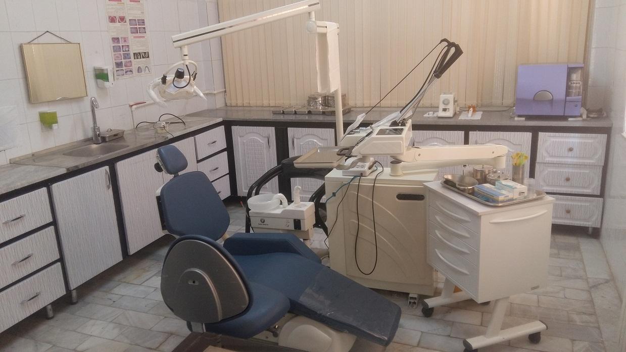 نماي دندانپزشكي مراكز خدمات جامع سلامت شهري جمهوري