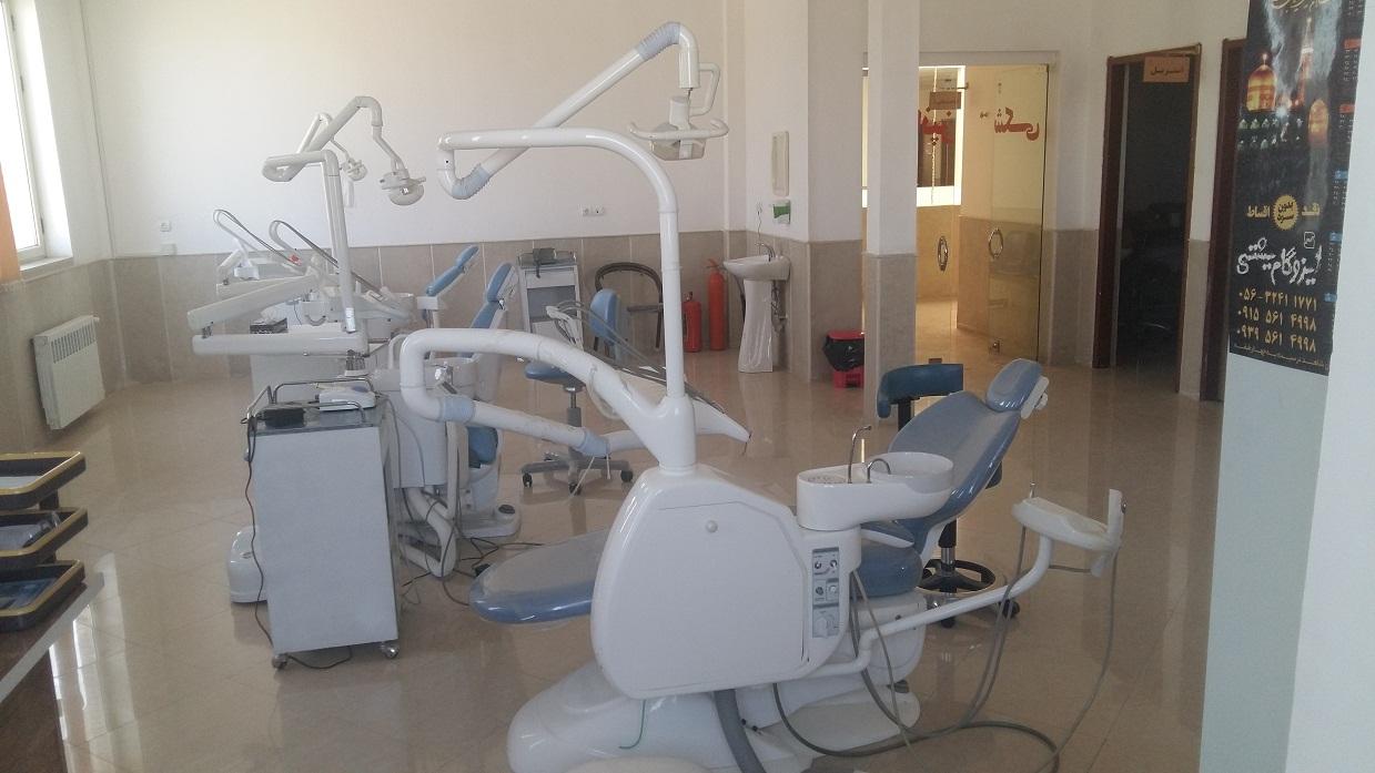 نماي دندانپزشكي پايگاه سلامت شهري معصوميه