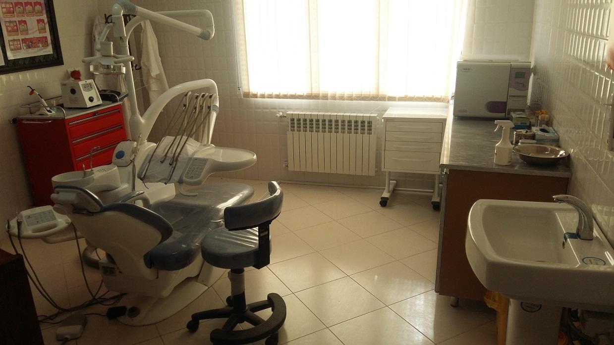 نماي دندانپزشكي پايگاه سلامت شهري هفده شهريور