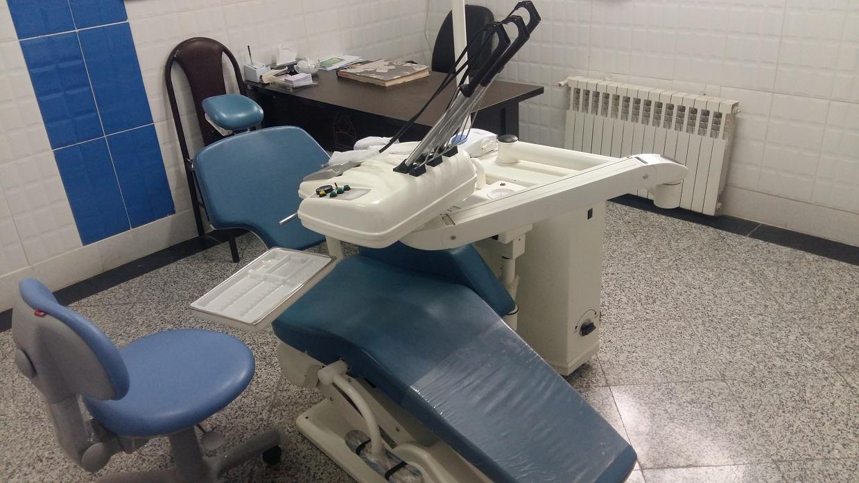 نماي دندانپزشكي مركز خدمات جامع سلامت شهري كارگران