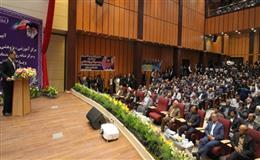 مراسم آيين افتتاحيه بيمارستان فردوس، مركز جامع سلامت و اورژانس باغشهر اسلاميه